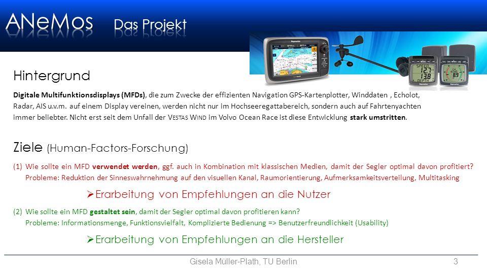 3 Hintergrund Digitale Multifunktionsdisplays (MFDs), die zum Zwecke der effizienten Navigation GPS-Kartenplotter, Winddaten, Echolot, Radar, AIS u.v.m.