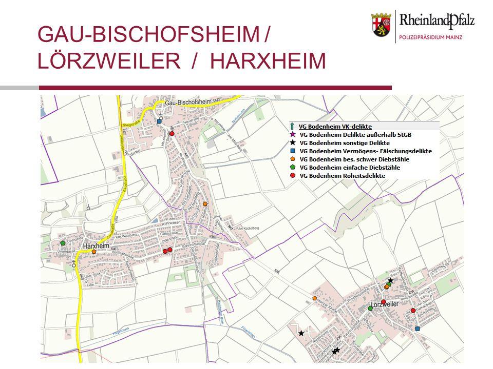 GAU-BISCHOFSHEIM / LÖRZWEILER / HARXHEIM
