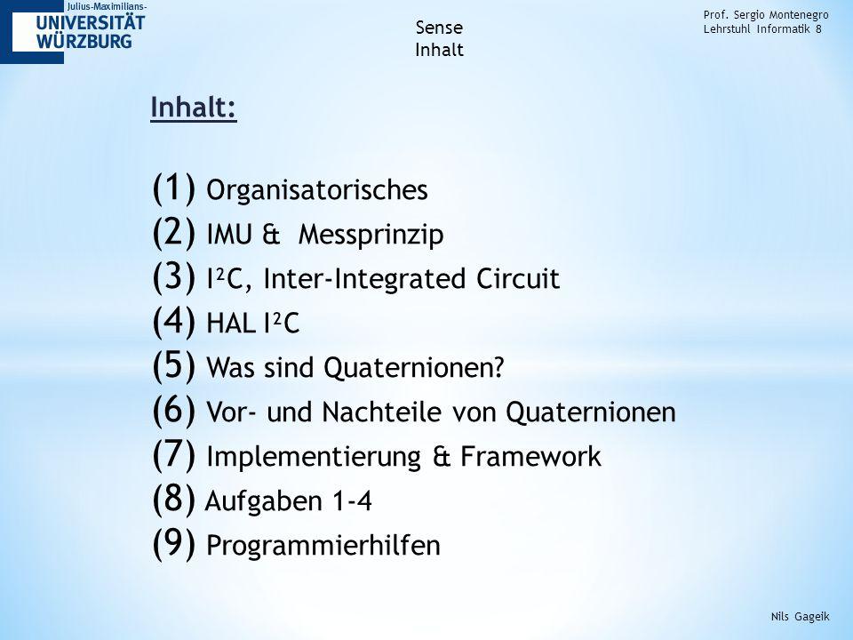 Quaternionen (3): Prof.