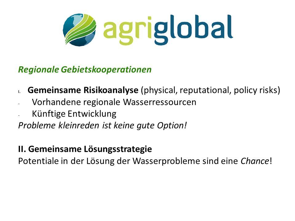 Regionale Gebietskooperationen I.
