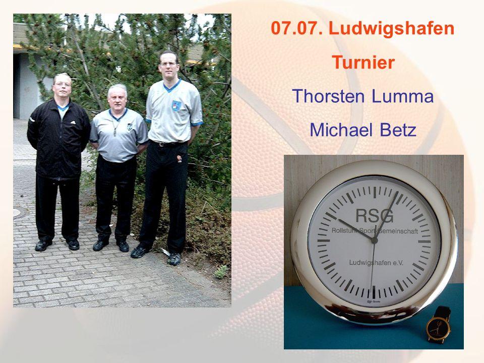 07.07. Ludwigshafen Turnier Thorsten Lumma Michael Betz