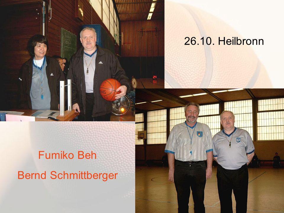 26.10. Heilbronn Fumiko Beh Bernd Schmittberger
