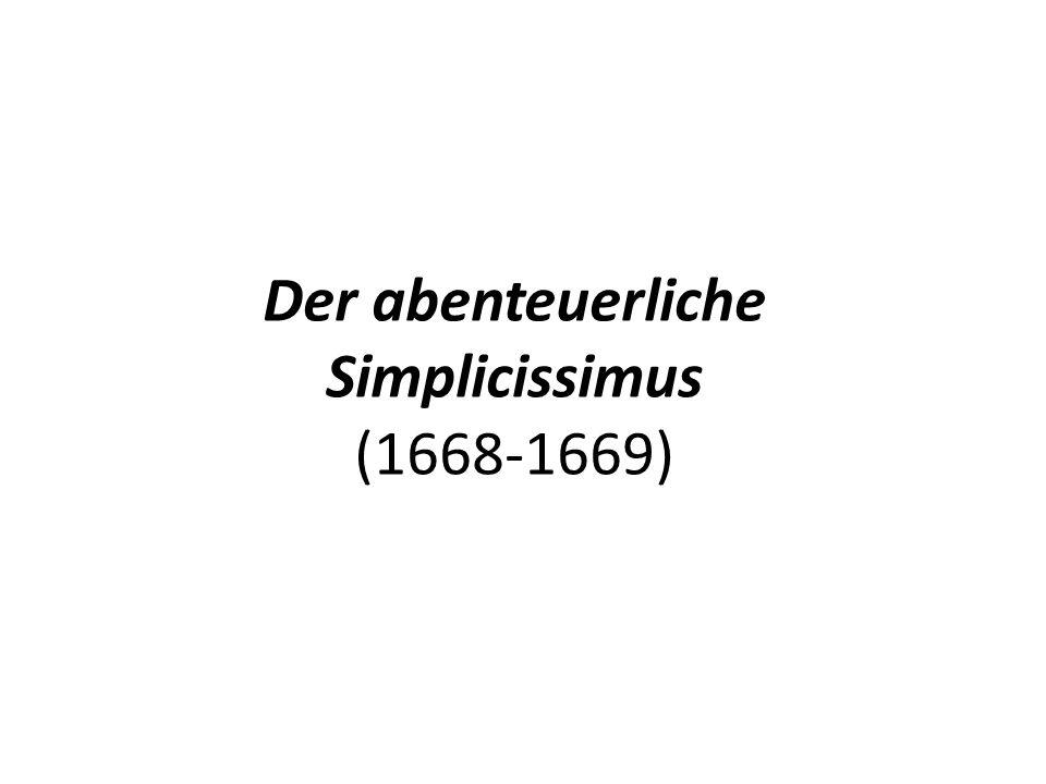 Der abenteuerliche Simplicissimus (1668-1669)