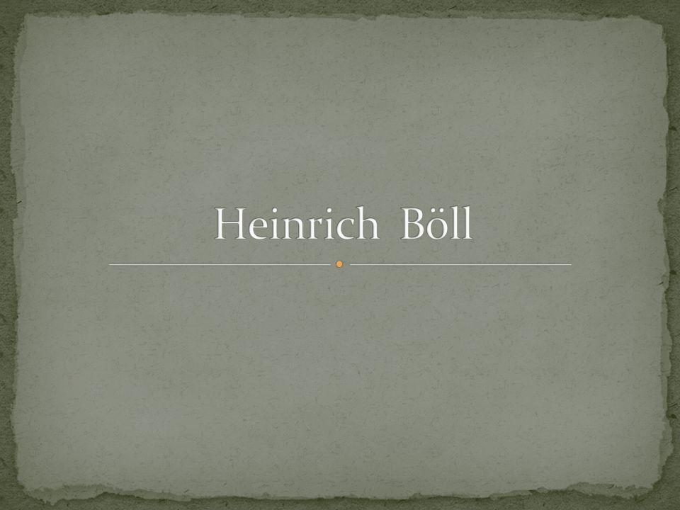 Heinrich Böll wurde am 21.