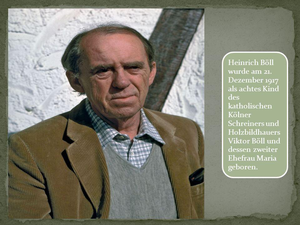 Nach dem Abitur (1937), einer Ausbildung in einer Buchhandlung in Bonn fing er an der Universität Köln ein Germanistikst udium an.