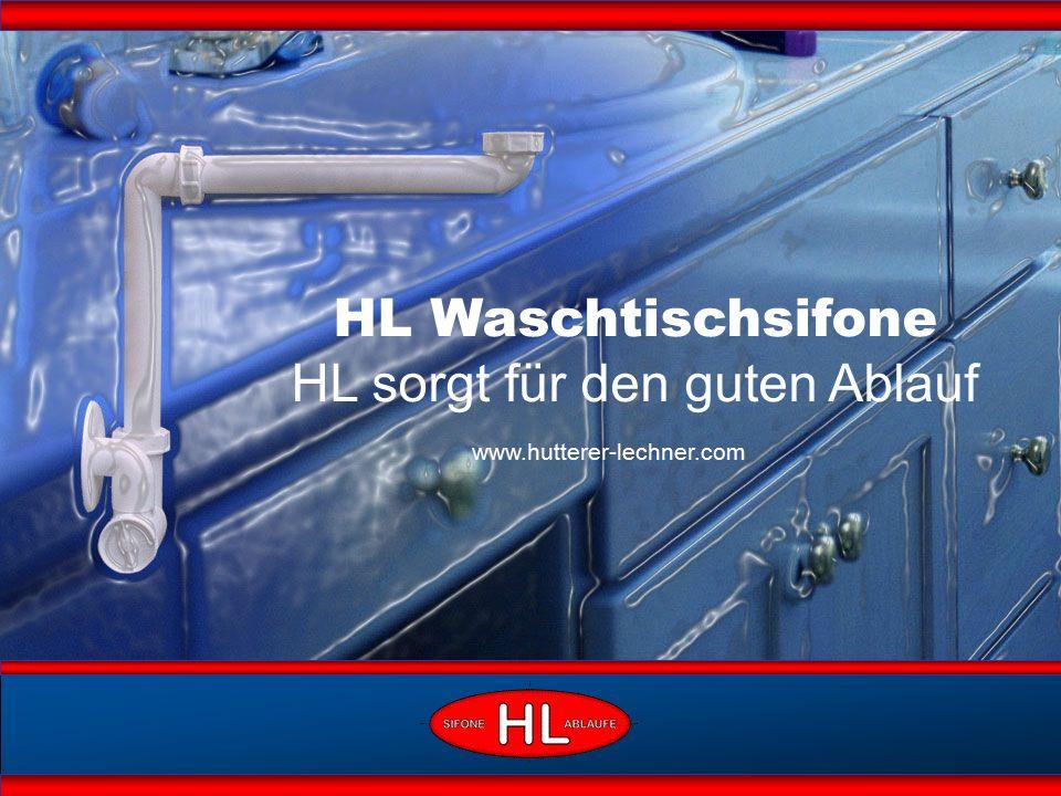 HL Waschtischsifone HL sorgt für den guten Ablauf www.hutterer-lechner.com