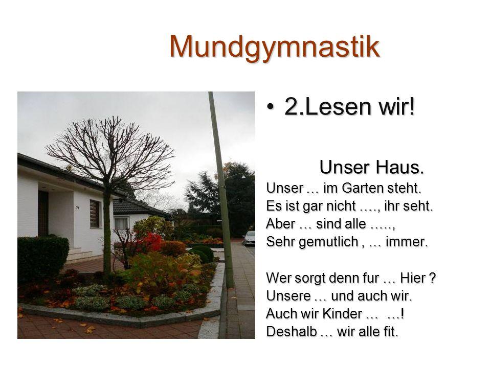 1.Svens Haus hat A) 5 Etagen B) 8 Etagen 2. Svens Wohnung ist A) gross B) klein 3.