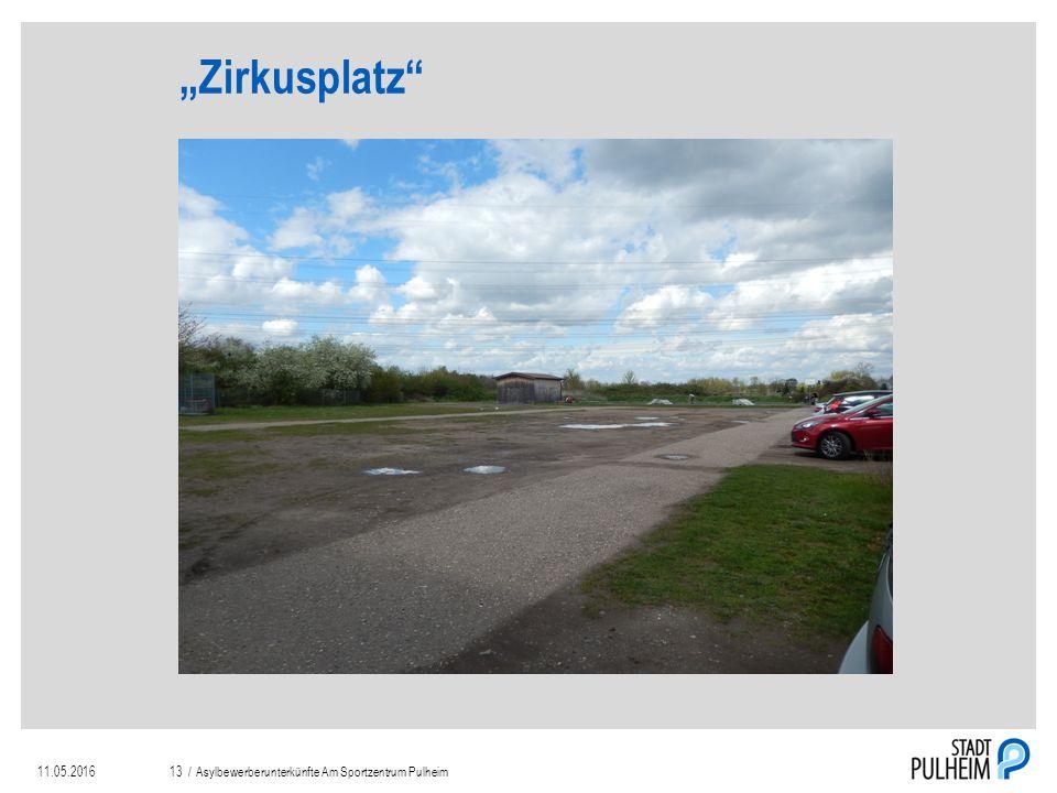 """""""Zirkusplatz 11.05.2016Asylbewerberunterkünfte Am Sportzentrum Pulheim13 /"""