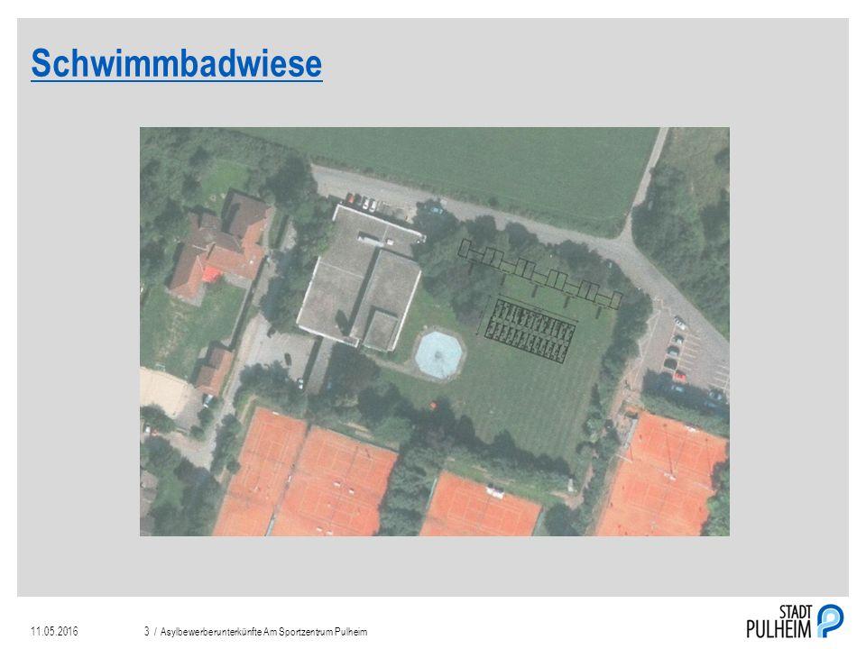 Schwimmbadwiese 11.05.2016Asylbewerberunterkünfte Am Sportzentrum Pulheim3 /
