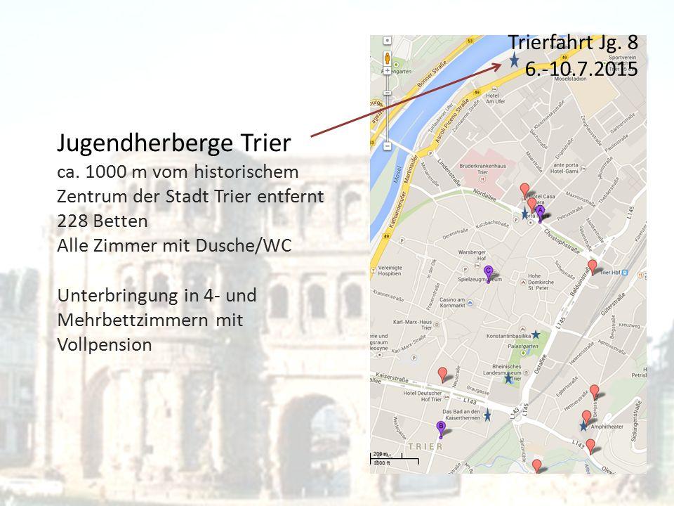 Jugendherberge Trier ca.