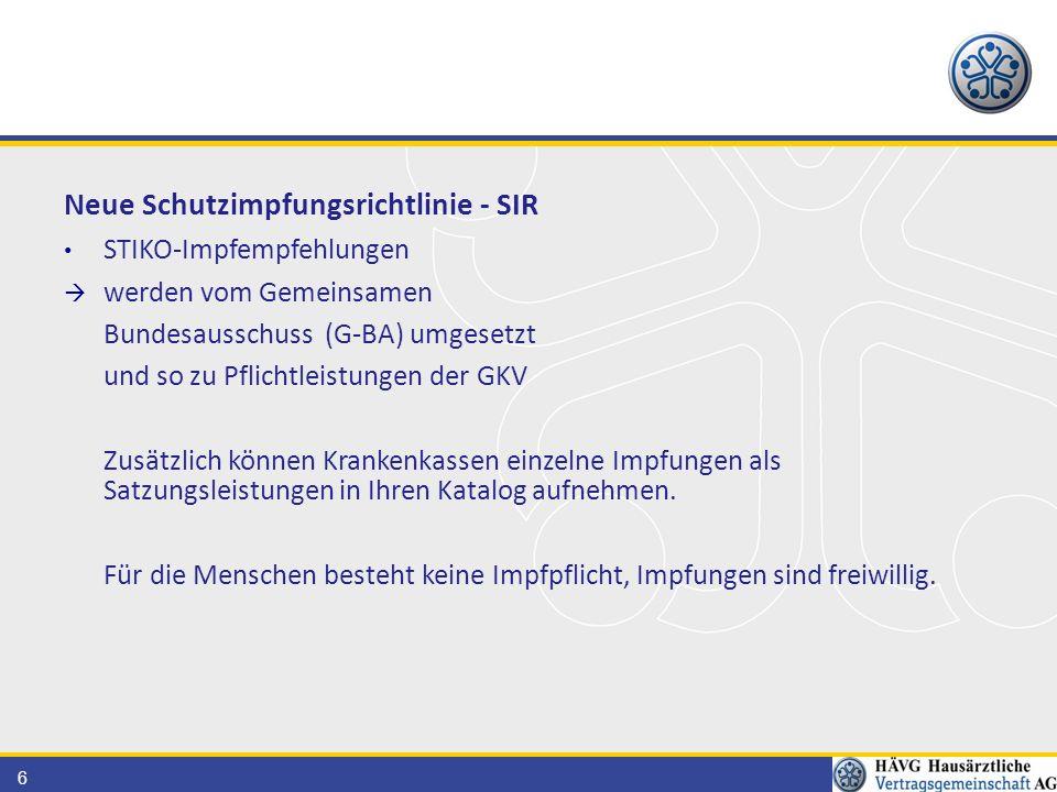 57 Satzungsleistungen der Krankenkassen Im Moment in Ba.-Wü.