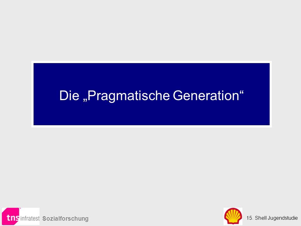 """15. Shell Jugendstudie Sozialforschung Die """"Pragmatische Generation"""
