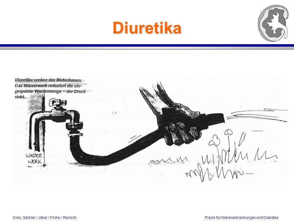 Dres. Gäckler / Jäkel / Fricke / Reinsch Praxis für Nierenerkrankungen und Diabetes Diuretika