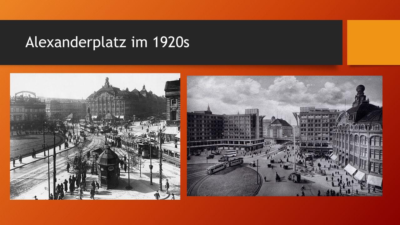 Alexanderplatz im 1920s