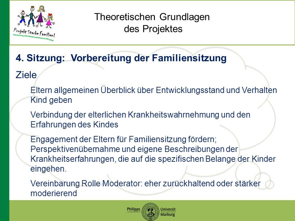 Theoretischen Grundlagen des Projektes 4.