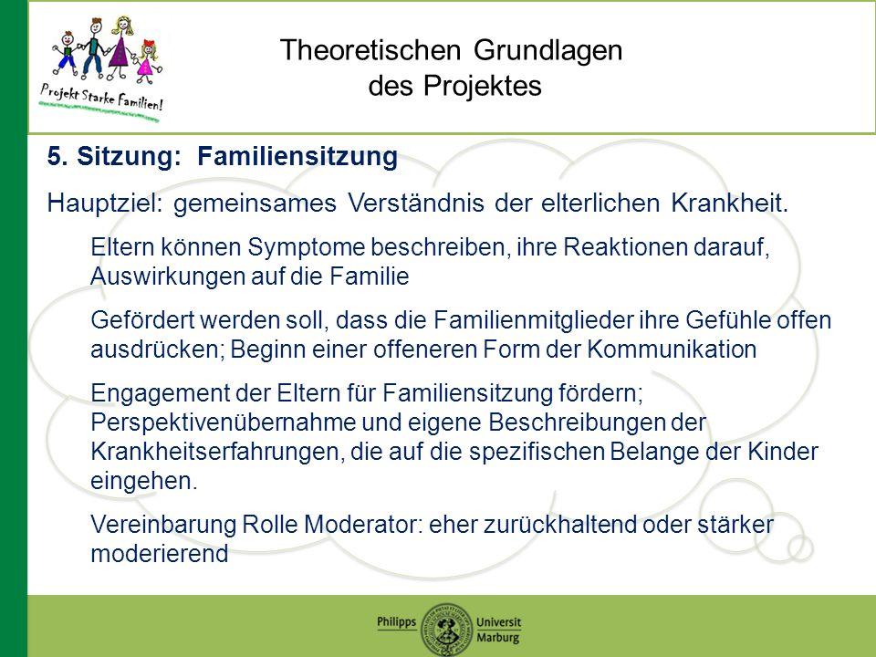 Theoretischen Grundlagen des Projektes 5.