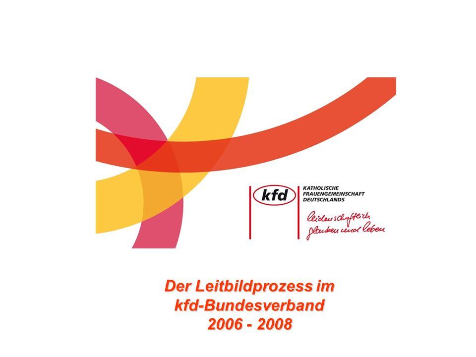 Der Leitbildprozess im kfd-Bundesverband 2006 - 2008