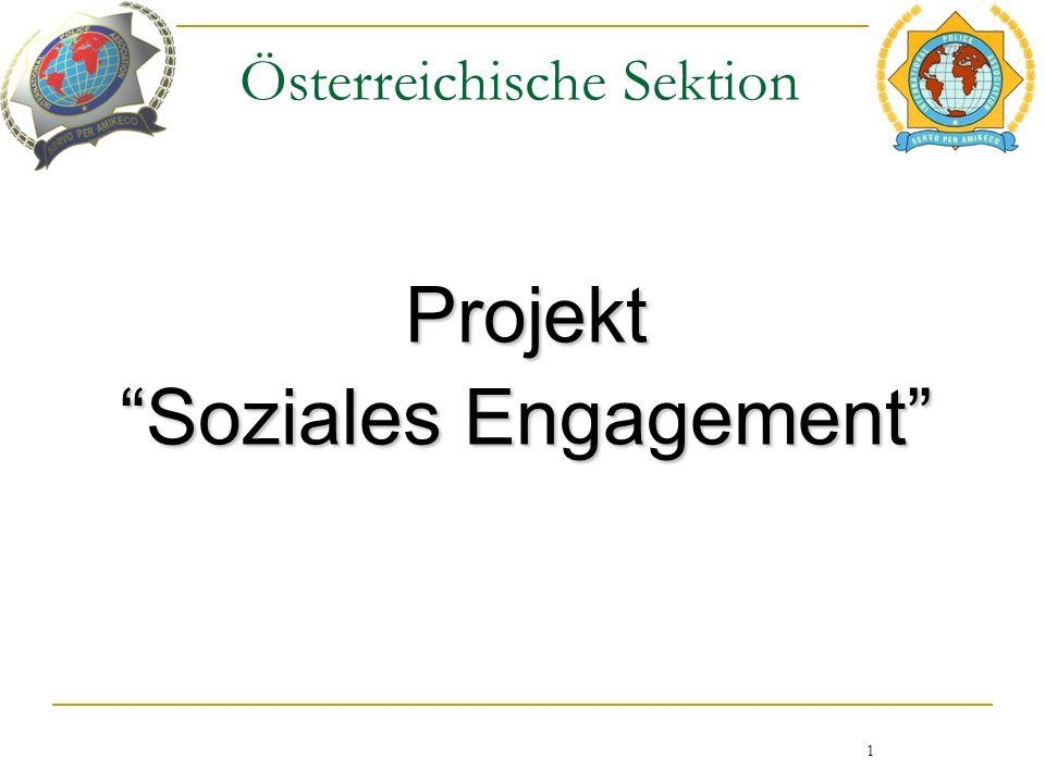 Österreichische Sektion Projekt Soziales Engagement 1
