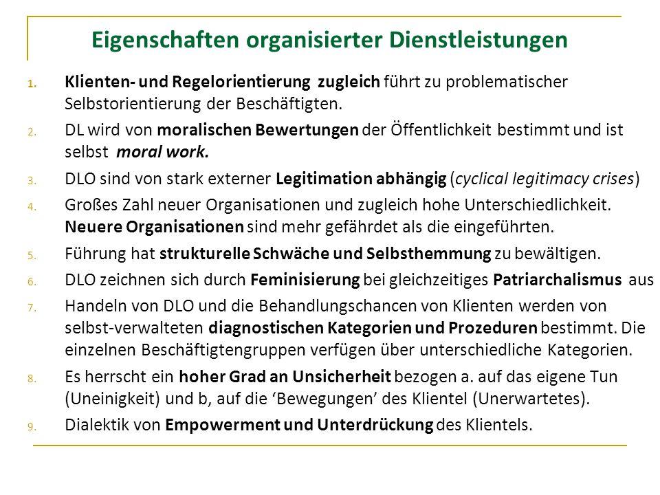 10.Typischerweise herrscht Machtgefälle zu Ungunsten bestimmter DL und DLOs 11.