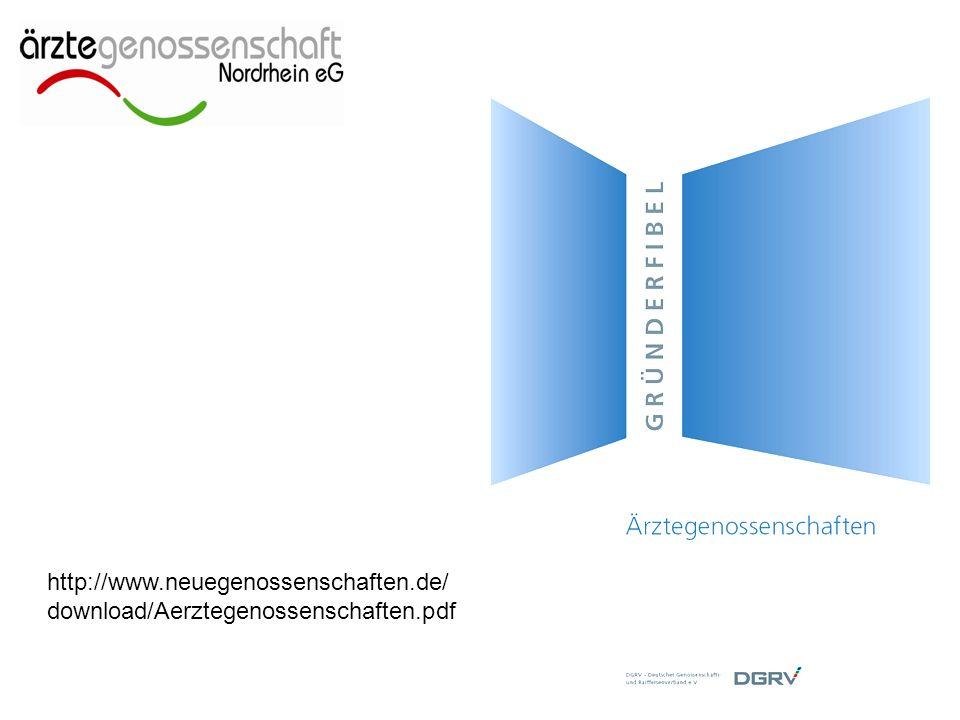 http://www.neuegenossenschaften.de/ download/Aerztegenossenschaften.pdf