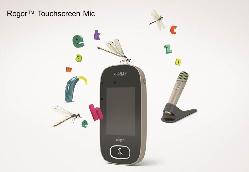 Integrierte Mikrofone 3,5-mm Audio- und Ladebuchse Status- anzeige Status- anzeige Roger Touchscreen Mic Stummschalttaste Ein/Aus & Sleep/Wake Status- anzeige Status- anzeige