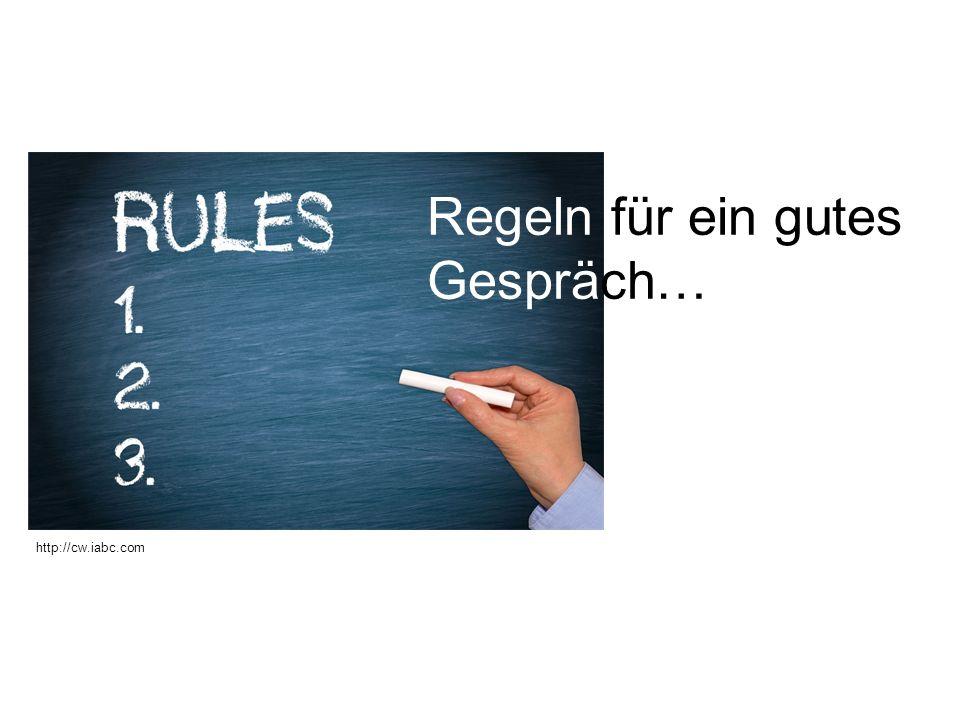 Seite 3 Regeln für ein gutes Gespräch nach Ruth C.