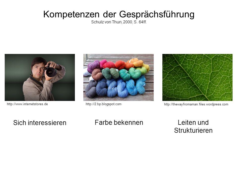 Seite 4 Kompetenzen der Gesprächsführung Schulz von Thun, 2000, S. 64ff. Sich interessieren http://www.internetstores.dehttp://2.bp.blogspot.com http: