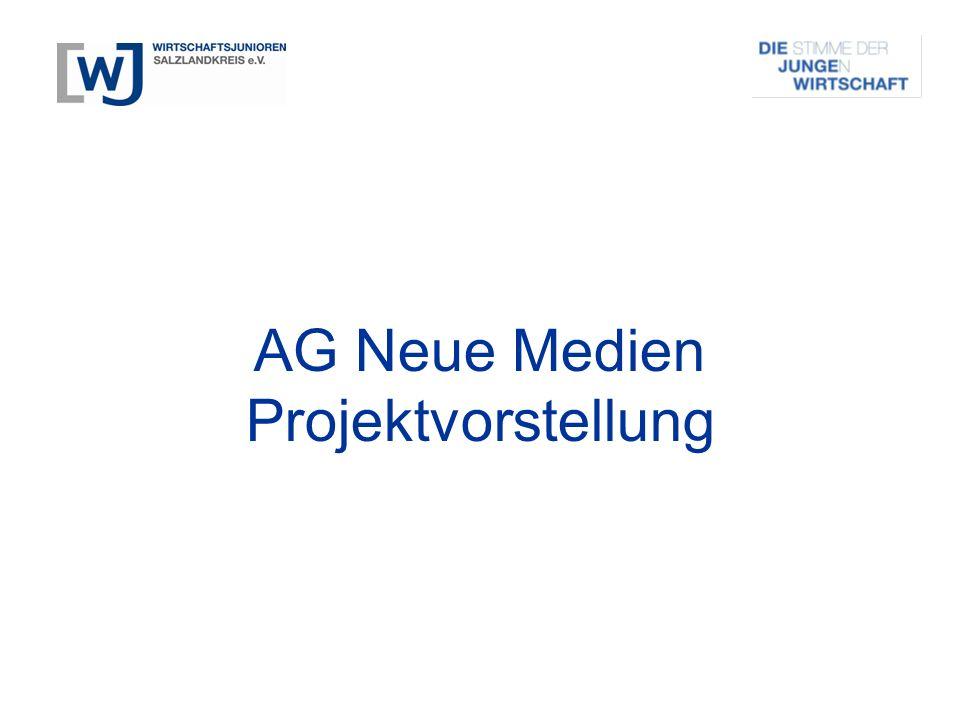 AG Neue Medien Projektvorstellung
