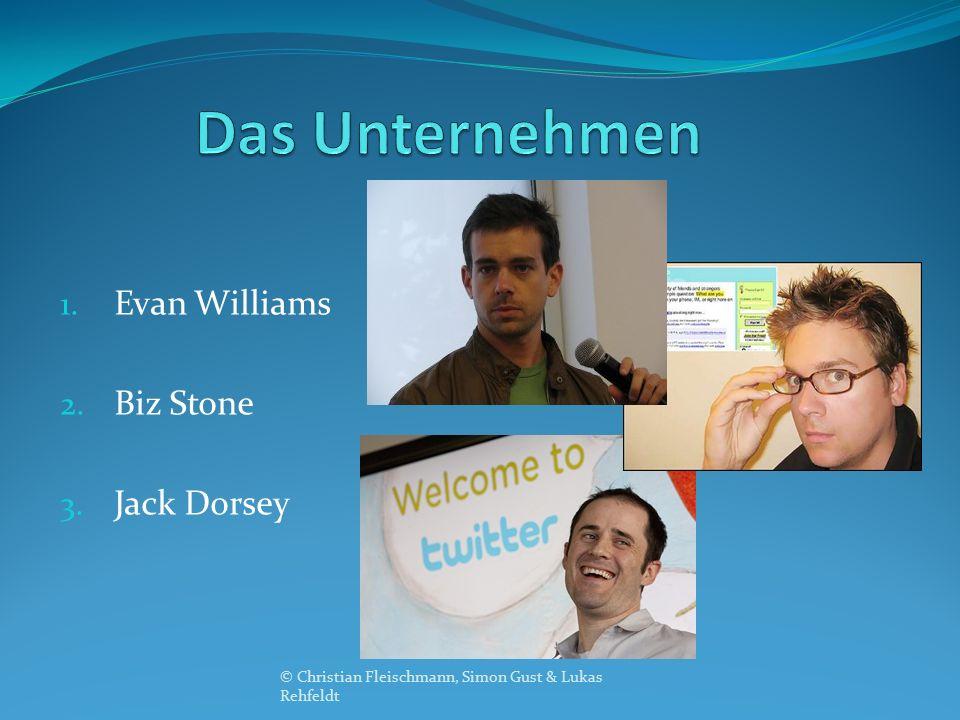 1. Evan Williams 2. Biz Stone 3. Jack Dorsey © Christian Fleischmann, Simon Gust & Lukas Rehfeldt