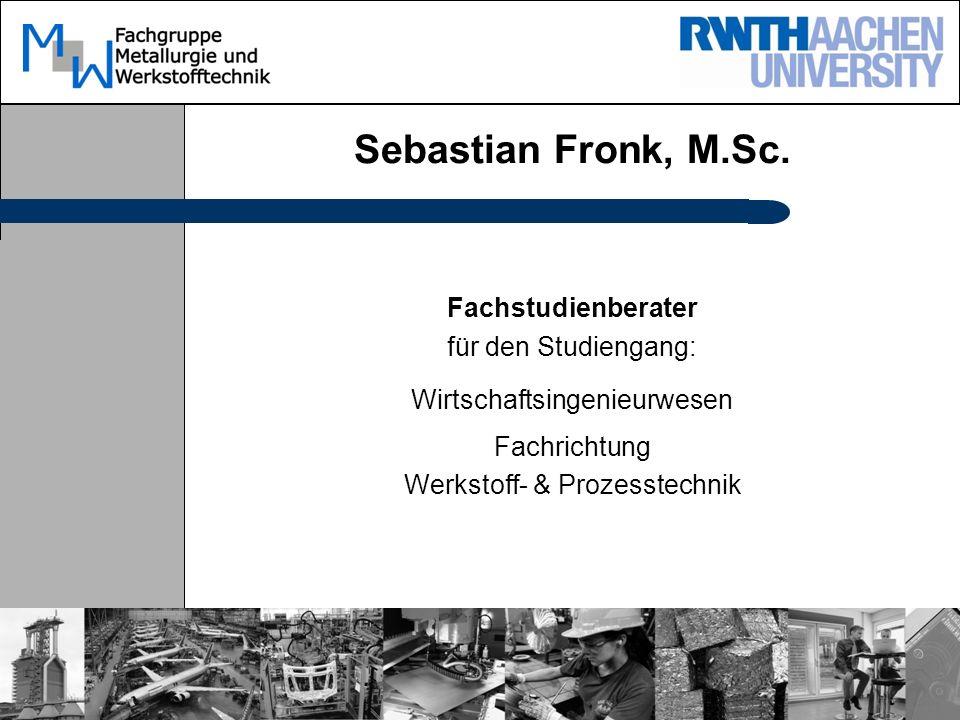 Sebastian Fronk, M.Sc.