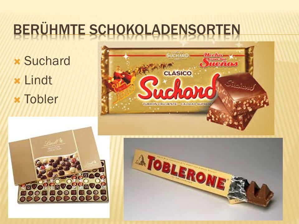  Suchard  Lindt  Tobler