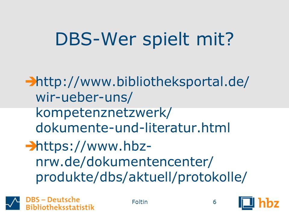 DBS-Wer spielt mit.