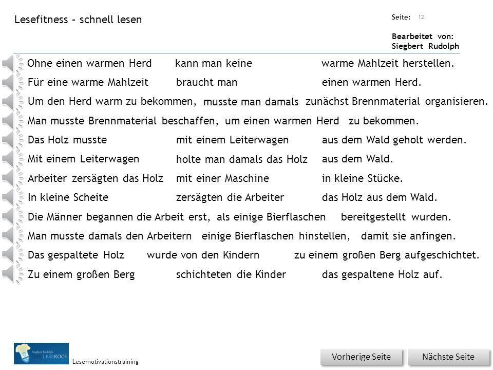 Übungsart: Seite: Bearbeitet von: Siegbert Rudolph Lesemotivationstraining Wörterschüttelautomat mit Phantasiewörtern 11 LeiterwagenLeiterkragenLeiter