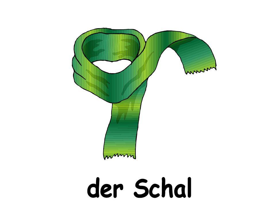 Welche andere Klamotten kennst du noch von Deutsch I.