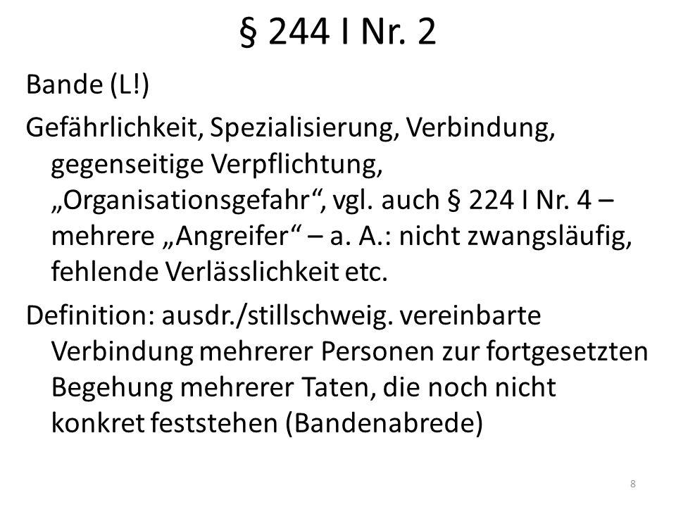 § 244 I Nr.