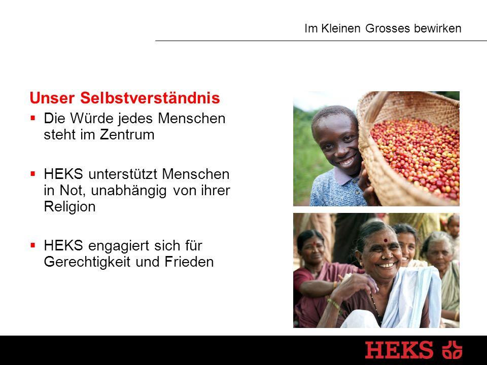 Im Kleinen Grosses bewirken HEKS in der Schweiz