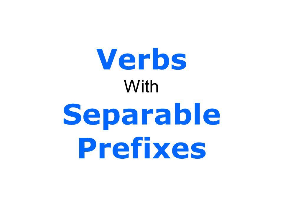 What is a prefix.