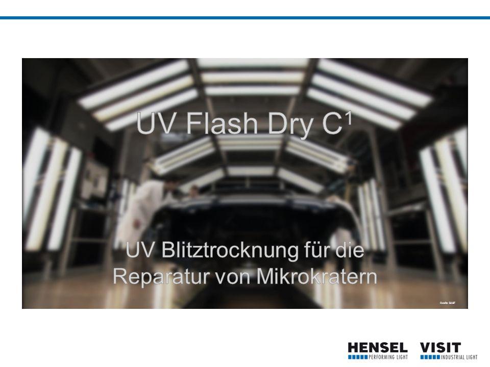 UV Flash Dry C 1  Blitzgerät für die UV Trocknung von Lacken  Standox 1K-UV Touch- Up Klarlack