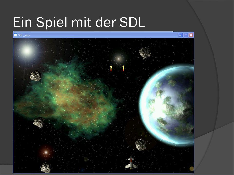 Ein Spiel mit der SDL