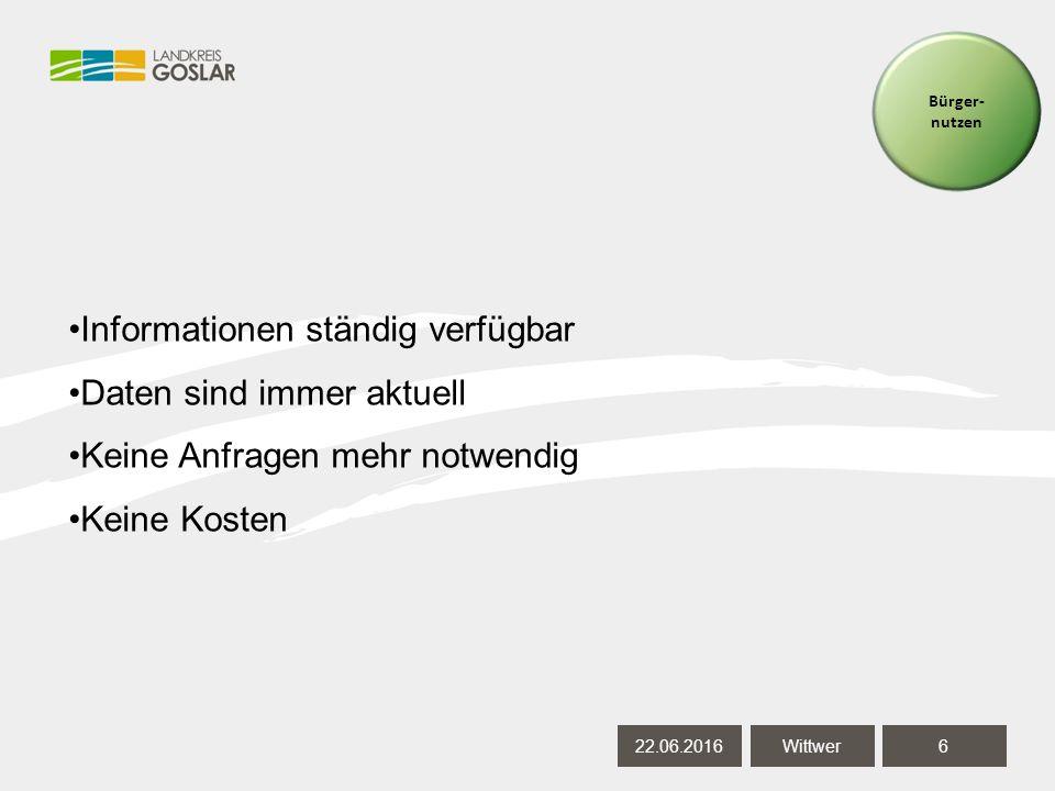 22.06.20167 Wittwer Kosten Softwarepflege: 23.500 € Automatisiertes Liegenschaftsbuch (ALB): 600 € Automatisiertes Liegenschaftskataster (ALK): 600 €