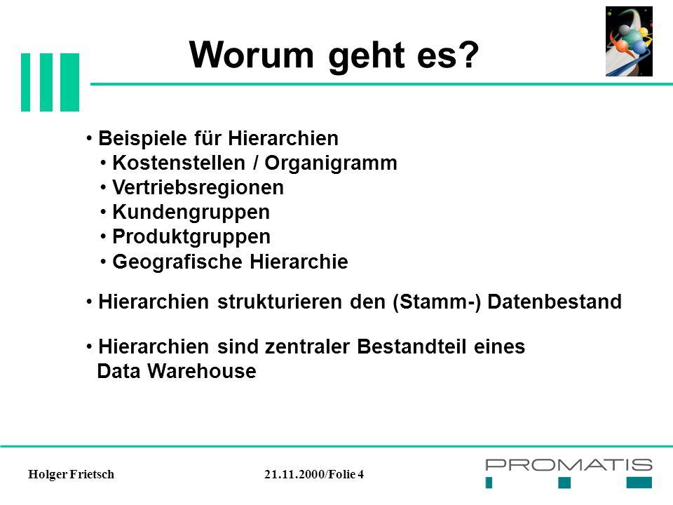 21.11.2000/Folie 4Holger Frietsch Worum geht es.