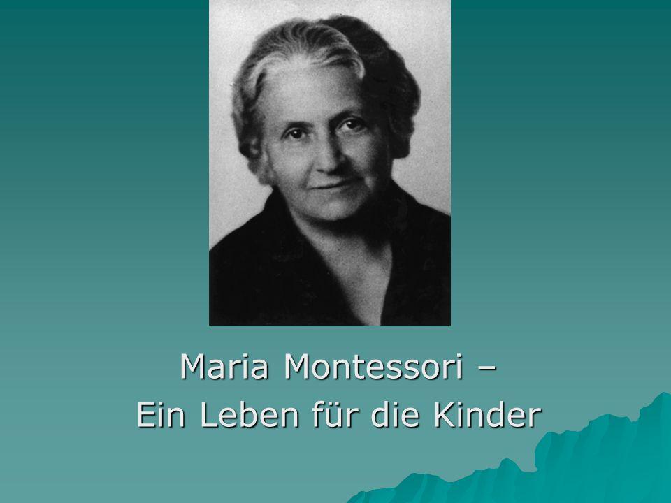 Das bewegte Leben der Maria Montessori - Das Kinderhaus wurde bald bekannt - Eröffnung weiterer Kinderhäuser, nicht nur in Rom und nicht mehr nur in Armenvierteln Das Kinderhaus in der Via Giusti In Rom, um 1909