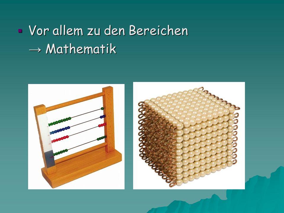  Vor allem zu den Bereichen → Mathematik → Mathematik