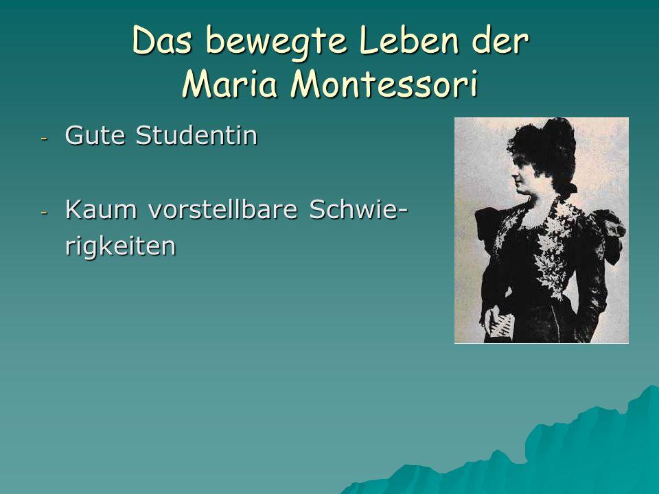 Das bewegte Leben der Maria Montessori - 1915 reist Montessori zum zweiten Mal in die USA, zusammen mit Mario und hält einen Ausbildungskurs.