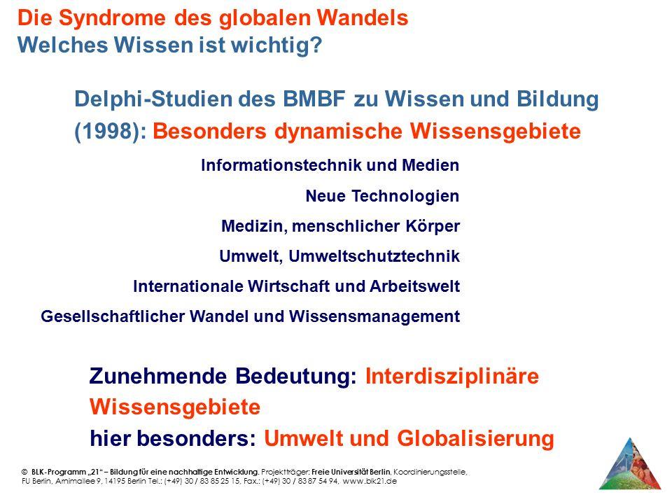 """© BLK-Programm """"21"""" – Bildung für eine nachhaltige Entwicklung. Projektträger: Freie Universität Berlin, Koordinierungsstelle, FU Berlin, Arnimallee 9"""