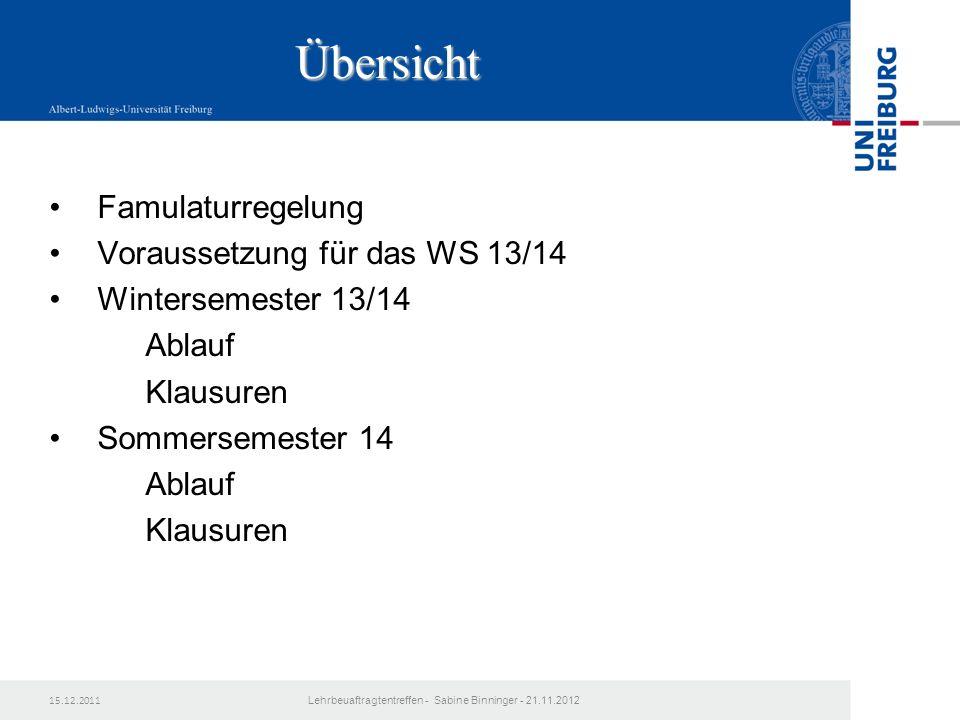 3.Studienjahr Gruppe B WS 2014/15 LehrbeauftragtentreffenEinführung in den 2.