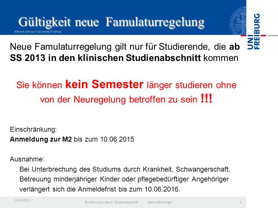 3.Studienjahr Gruppe B SS 2015 LehrbeauftragtentreffenEinführung in den 2.