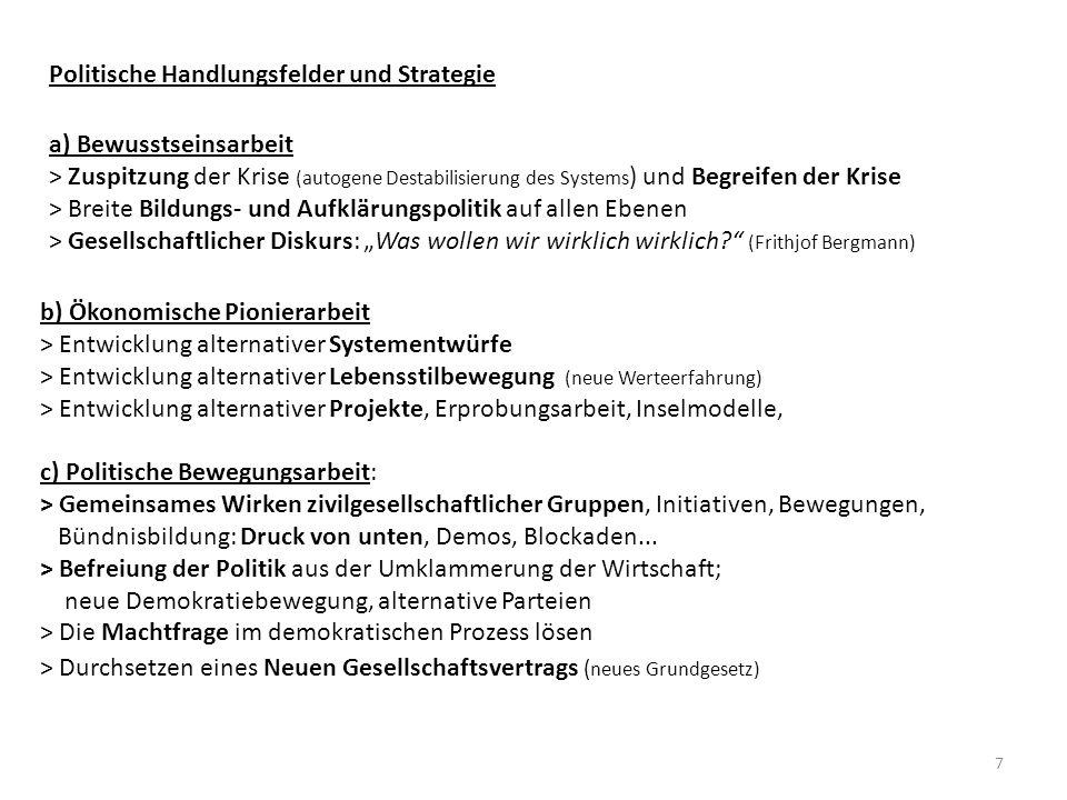 8 Aufgaben für Christen und Kirchen 5.