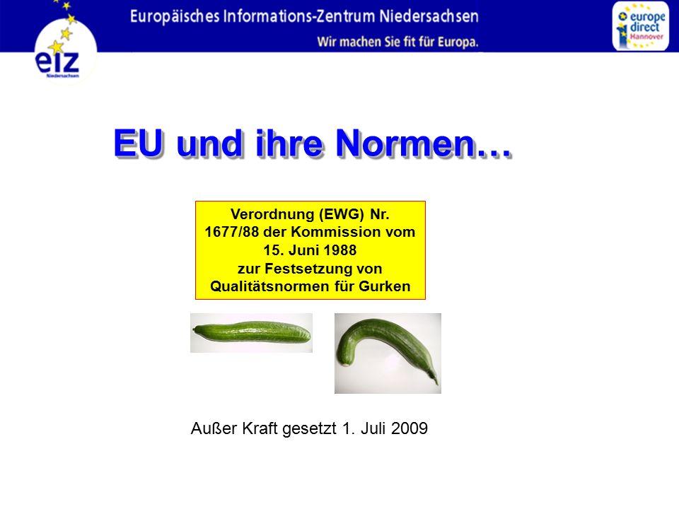 Verordnung (EWG) Nr.1677/88 der Kommission vom 15.
