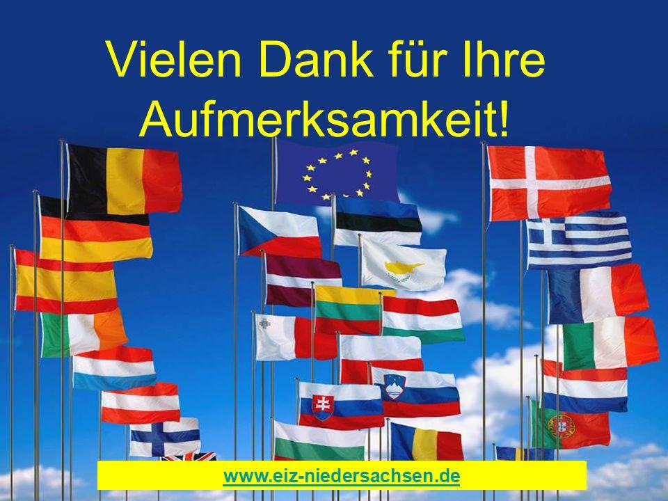Vielen Dank für Ihre Aufmerksamkeit! www.eiz-niedersachsen.de